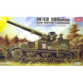 Academy 1:35 M12 155 Gun Motor carriage (Re-Release)