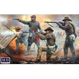Masterbox 1:35 18th North Carolina Infantry Regiment, Army of Northern Virg