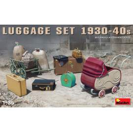 Miniart 1:35 Luggage Set 1930-40s