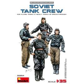 Miniart 1:35 Soviet Tank Crew (for Flame Tanks & Heavy Tanks of Breakthroug