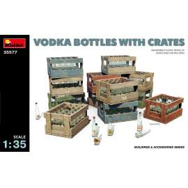 Miniart 1:35 Vodka Bottles with Crates