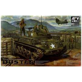 AFV-Club 1:35 M42A1 Self Propelled Anti-Aircraft Gun harcjármű makett