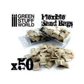 Green Stuff World flexibilis homokzsák (flexible SANDBAGS x50)