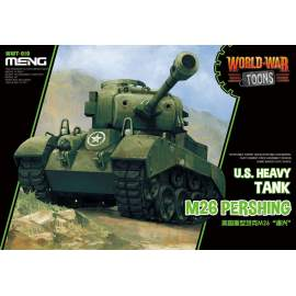 Meng Model U.S. Heavy Tank M26 Pershing (Cartoon Model)