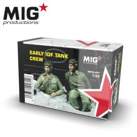 MIG Productions 1:35 Early IDF Tank crew