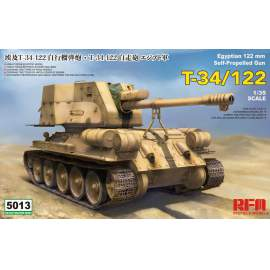 Ryefield model 1:35 T-34/122 Egyptian harcjármű makett