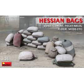 Miniart 1:35 Hessian Bags (sand, cement, vegetables, flour, seeds etc)