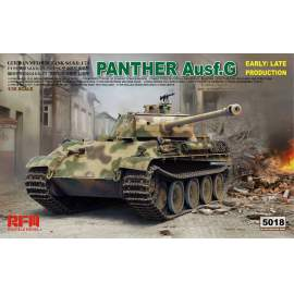 Ryefield model 1:35 Panther Ausf.G Early/Late productions harcjármű makett