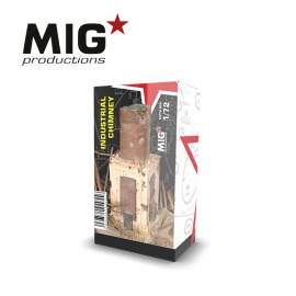 MIG Productions 1:72 Industrial chimney