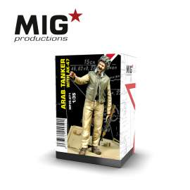 MIG Productions 1:35 Arab tanker with AK47