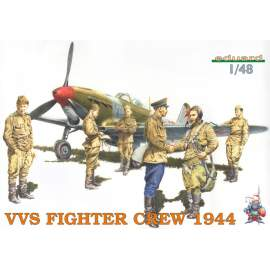 Eduard 1:48 VVS Fighter Crew figura makett