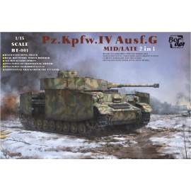 Border Model 1:35 Panzer IV Ausf.G Mid/Late 2in1