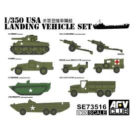 AFV-Club 1:350 US WW2 Vehicle Set