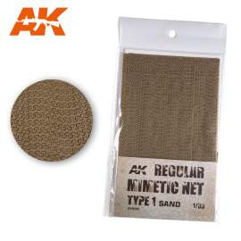 AK Interactive camouflage net sand type 1.