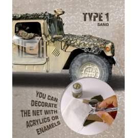 AK Interactive camouflage net sand type 1.