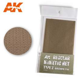 AK Interactive camouflage net brown type 2.