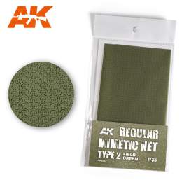 AK Interactive camouflage net field green type 2.