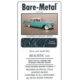 BARE METAL FOIL Black Chrome (self adhesive)