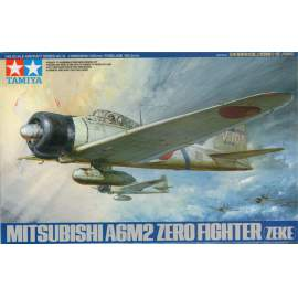 Tamiya 1:48 A6M2 Type 21 Zero Fighter repülő makett