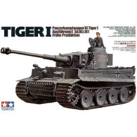 Tamiya 1:35 Pz.Kpfw.VI Tiger I early version harcjármű makett