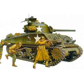 Tamiya 1:35 M4A3 Sherman late production type with 75mm Gun