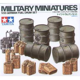 Tamiya 1:35 German Fuel Drums
