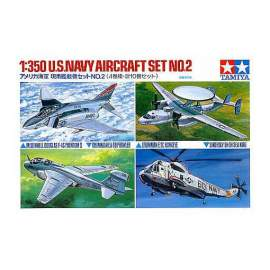 Tamiya 1:350 US Navy aircraft No. 2 set repülő makett