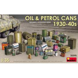 Miniart 1:35 Oil & Petrol Cans 1930-40s