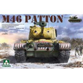 Takom 1:35 US Medium tank M-46 Patton