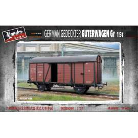 Thunder Model 1:35 German Gedeckter Güterwagen Gr type 15t