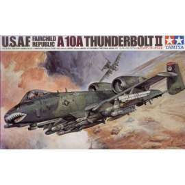 Tamiya 1:48 Fairchild A-10A Thunderbolt II updated repülő makett
