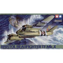 Tamiya 1:48 Bristol Beaufighter TF Mk.X repülő makett