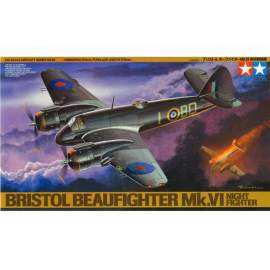 Tamiya 1:48 Bristol Beaufighter Mk.VI Nightfighter repülő makett