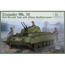 IBG Model 1:72 Crusader Anti Air Tank Mk. III with Oerlikon Guns