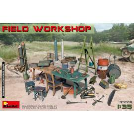 Miniart 1:35 Field Workshop