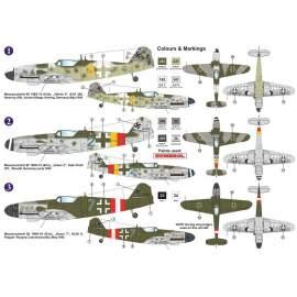 """AZ Model 1:72 Bf 109G-10Erla """"Late"""" Block 15XX repülő makett"""