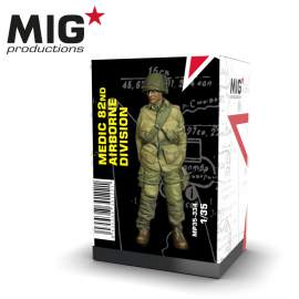 MIG Productions 1:35 Medic 82ND Airborne division