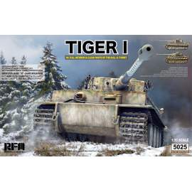 Ryefield model 1:35 Tiger I Witmann full interior - Clear Edition