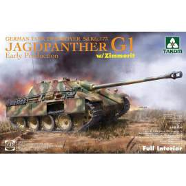 Takom 1:35 Jagdpanther G1 early w/ Zimmerit full Interior