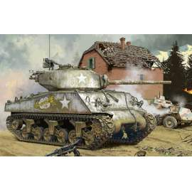 Meng Model 1:35 U.S.Medium Tank M4A3 (76)W harcjármű makett