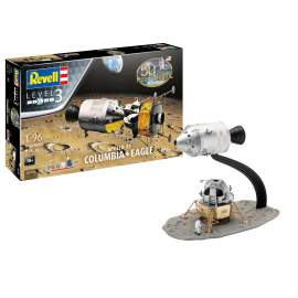 Revell 1:96 Apollo 11 Columbia & Eagle (50 Years Moon Landing)