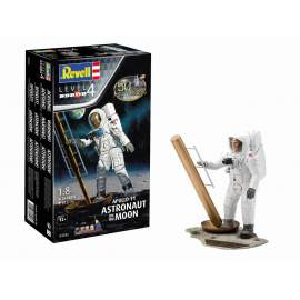 Revell 1:8 Apollo 11 Astronaut on the Moon (50th Anniversary of the Moon La