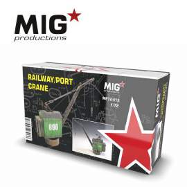 MIG Productions 1:72 Railway/port crane