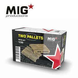 MIG Productions 1:35 Two pallets