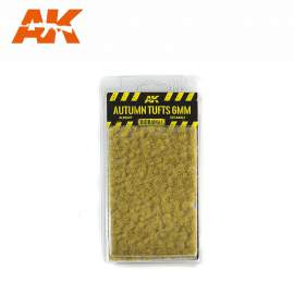 AK Interactive tufts, Autumn tufts 6mm