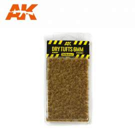AK Interactive tufts, Dry tufts 6mm