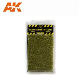 AK Interactive tufts, Summer green tufts 6mm