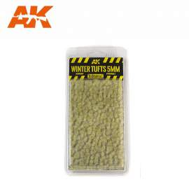 AK Interactive tufts, Winter tufts 5mm