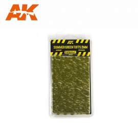 AK Interactive tufts, Summer green tufts 2mm