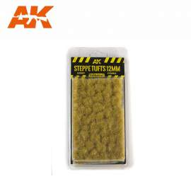 AK Interactive tufts, Steppe tufts 12mm